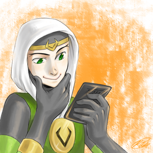 instant-rhapsody:  Fanart for my Kid Loki Blog. This without words.  Reblogging myself.