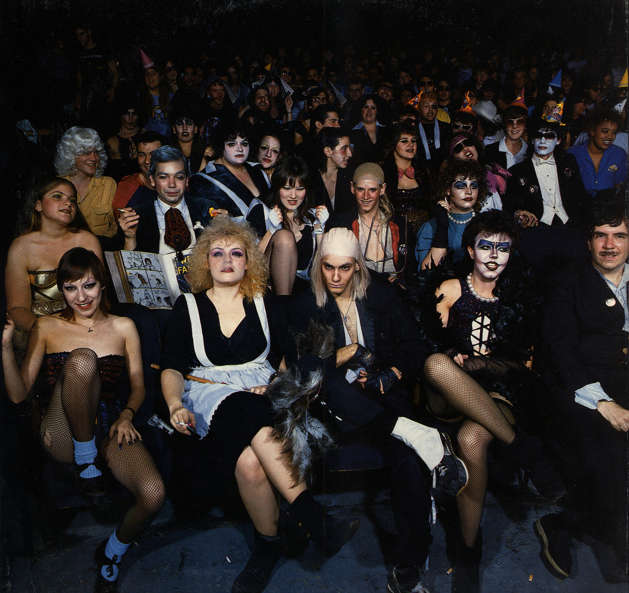 Retro Rocky Horror Picture Show audience