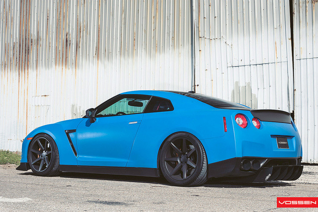 Nissan GTR - VVSCV7 by VossenWheels on Flickr.