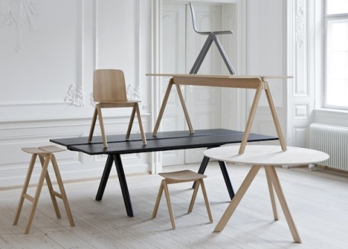 The latest by Bouroullec brothers for HAY, launched at the Orgatec fair in Cologne last week.