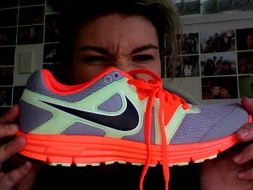 in love with my new nikes.