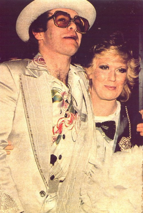 dusty—springfield:  Elton John and Dusty Springfield.