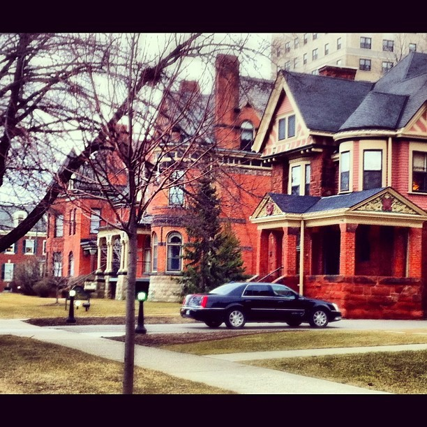 the inn on #ferry-st. #travel #hotel #inn #houses #detroit #architecture #urban #igersdetroit #michigan #vintage