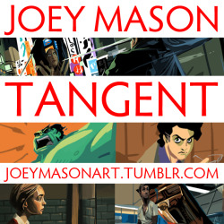 Joey Mason Joey Mason is an animation artist and illustrator in Los Angeles, CA. He specializes in dynamic, stylized design and color and posts studies, samples, and behind-the-scenes art on his tumblr. Joey's credits include Gun Fu, The Spectacular Spider-Man Animated Series, Scooby-Doo Mystery Inc., and Green Lantern The Animated Series!