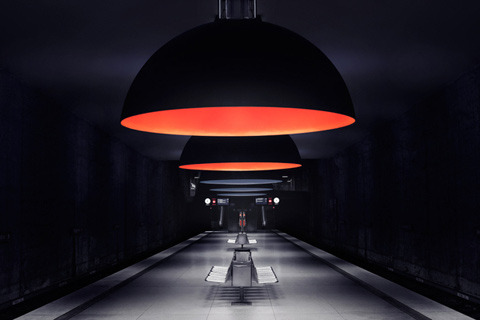 (via Surreal Photos of Munich's Underground Subway Stations | Feature Shoot)