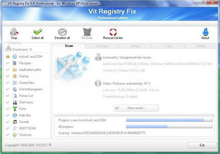 Vit Registry Fix Pro 12.4.1 Multilingual (PC) Vit Registry Fix Pro 12.4.1 Multilingual | 8.1 MB Powerful program for cleaning the registry of…View Postshared via WordPress.com