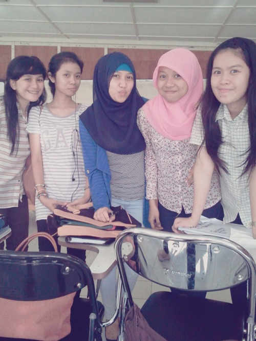 With girls :)
