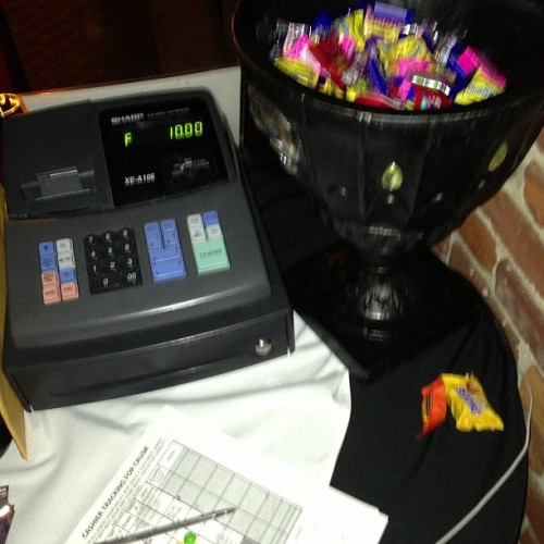 Look what I get at work ;D #candy #somuchcandy #halloween #club #party #awesomeeee