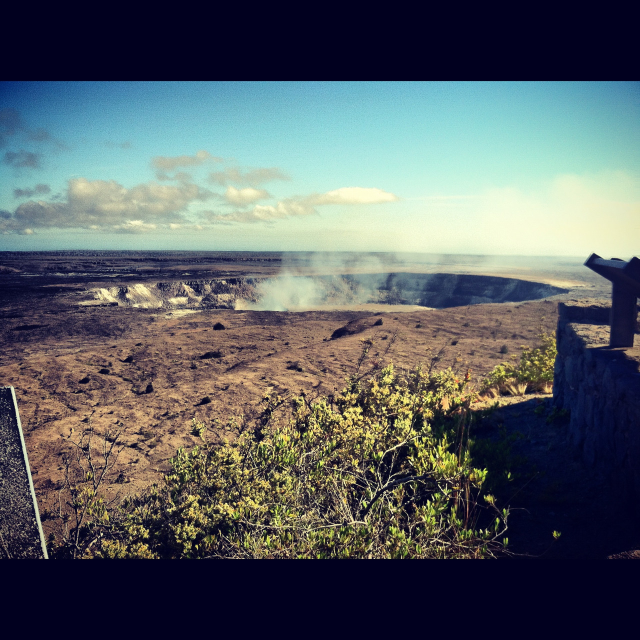 crater at Hawaii Volcano National Park