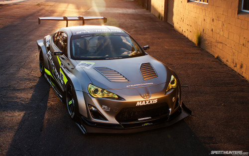 Supercharged GT86 (FR-S in that case) looking damn fine