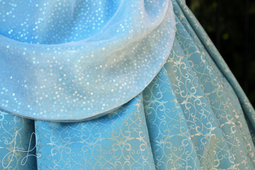 adventuresatdisneyland:  Costume Detail: Cinderella on Flickr.