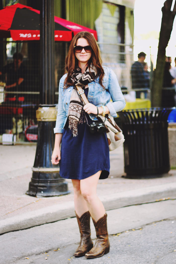 Helloberry's contributor, Carley Stewart adorned in cozy denim, complimented with Aztec print.Iconic for their 'smoothie' chain bracelets, Helloberry is an online web-shop specializing in pretty handmade jewelry. Founded in 2011, 'Helloberry is the lovechild of three Torontonian girlfriends who share a passion for good food, good wine, fun travels and all the pretty little things in between.' -helloberryinchttp://www.helloberryinc.com/@helloberryinc@stewartcarley