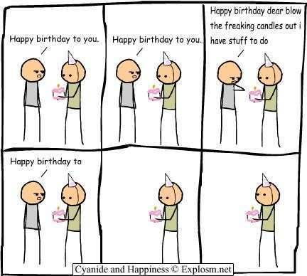 copperowl:  Oh yeah, it's my birthday 8D