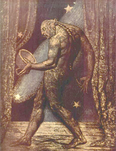 William Blake 'The Ghost of a Flea' c1819-20