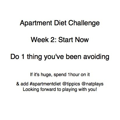 #apartmentdiet challenge week 2 is here. Start now & show us what you've done on facebook & instagram