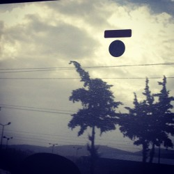 #athens #rain #clouds