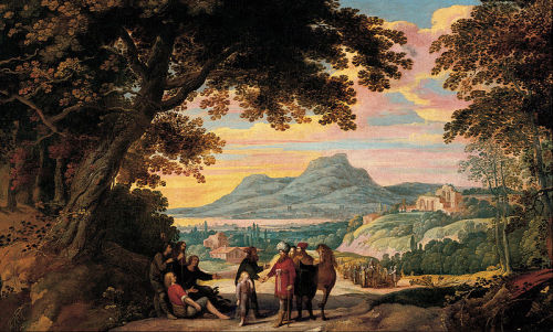 Jan Wildens - Joseph sold by his Brothers -