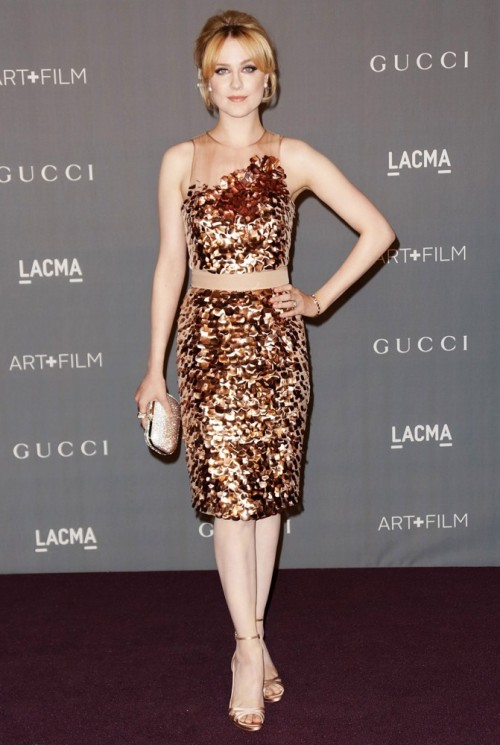 Evan Rachel Wood @ LACMA Art + Film Gala (October 27)