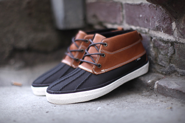 Vans Chukka Del Pato CA This is exactly what I need for this rainy-snowy thing that is going on under my feet  right now. GIMME!
