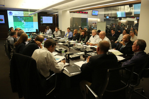 nycgov:  Mayor Bloomberg will update New Yorkers on Hurricane Sandy at 11:30 a.m. today. Watch the briefing live at NYC.gov.  From the operational HQ.