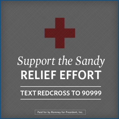Please support the Sandy relief efforts by donating to the Red Cross. Text REDCROSS to 90999 or click here: http://rdcrss.org/PSpvi2