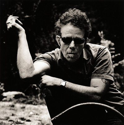 "kvetchlandia:  Tom Waits     Uncredited and Undated Photograph ""Most of the people I admire, they usually smell funny and don't get out much. It's true. Most of them are either dead or not feeling well.""  Tom Waits"