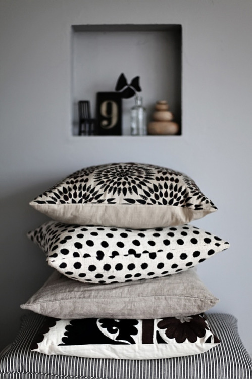 lovely stack of cushions :)