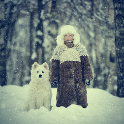 "jordinebot:  (via 500px / Photo ""Snowy"" by Vladimir Zotov)"