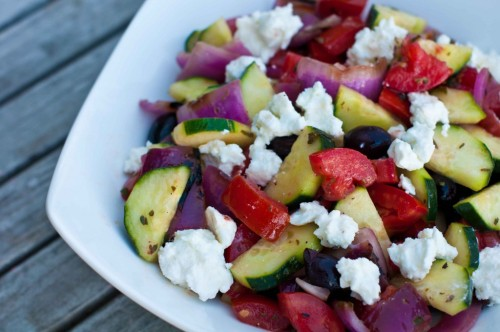 greek salad from Plant Food Fabulous