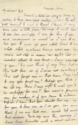 ephemeralnymphe:  Copy of an original letter from John Keats to Fanny Brawne