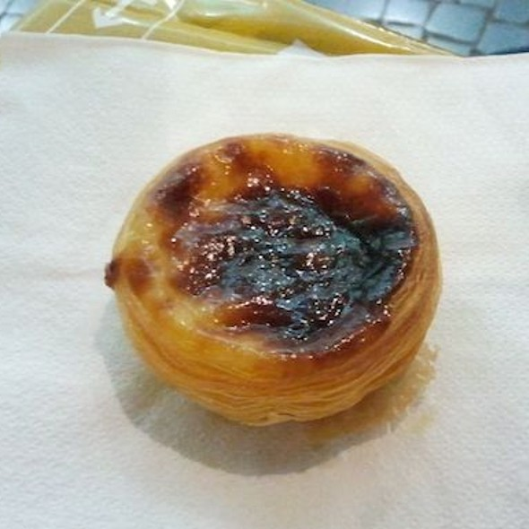 Pastel de Nata @ VASCO DA GAMA#sweet and #savoury Portugese snack that you must after. Crisp and addictive!Via Foodspotting