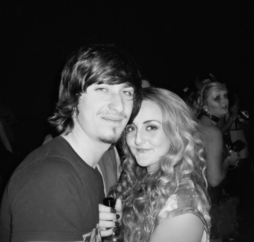 zenoside:  me and my boyfriend after he played a gig in Blackwood with his band :))