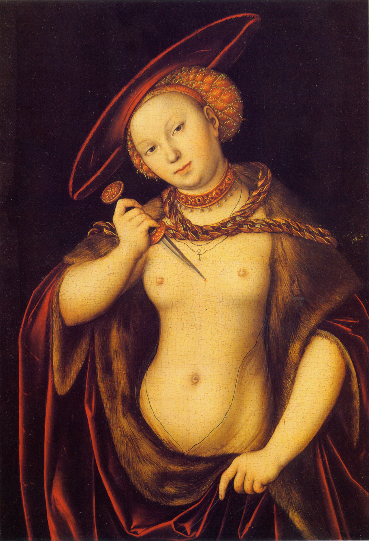 Lucas Cranach the Elder, Lucretia