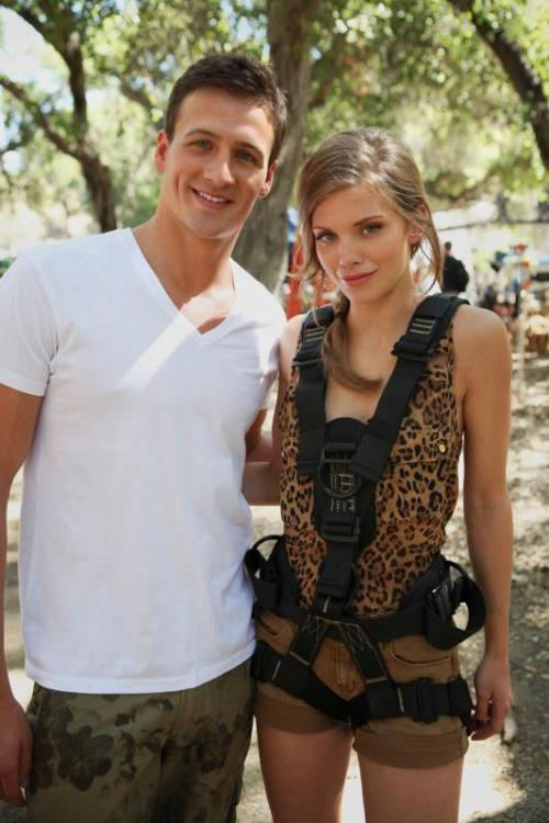 90210 cwnetwork:  Ryan Lochte guest stars on an all new episode of 90210 tonight at 8/7c!