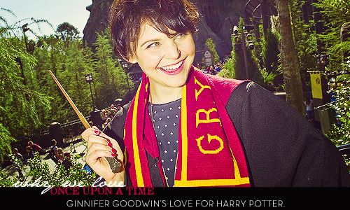 Ginnifer Goodwin's love for Harry Potter.