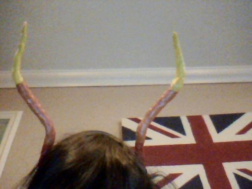 my horns are terrible omfg i should just get someone to make them for me