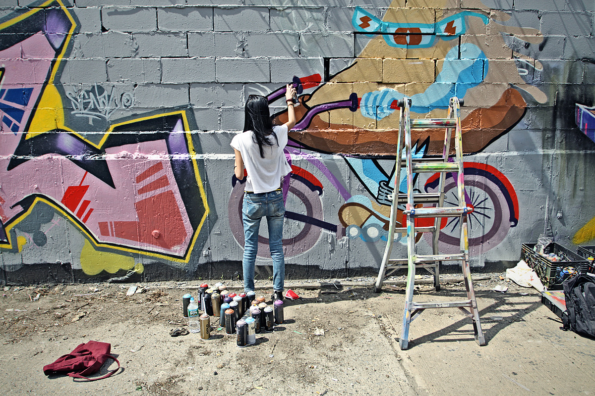 Work in progress  Sheryo Bushwick, New York 2012 Photo by Luis Colon