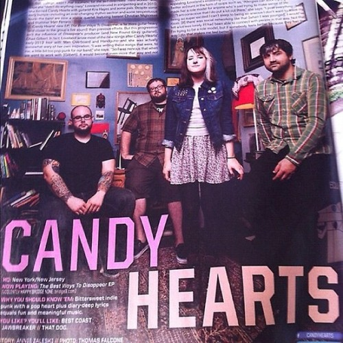 We are in the new Alt Press out tomorrow!! If the hurricane doesn't destroy everything, pick it up!!