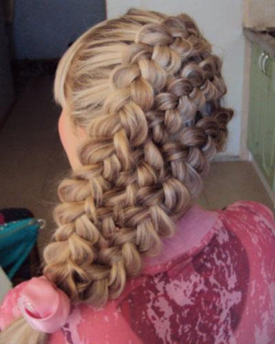 Anla! Gusto ko to Girl! \m/ #braids #Hairartist #hair