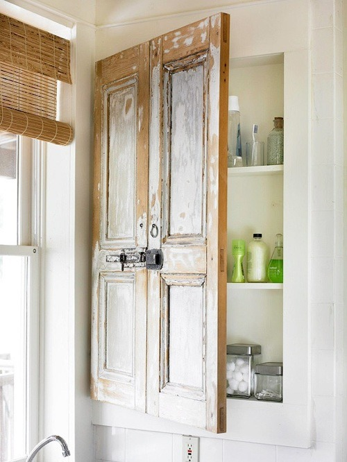 Repurposing Vintage Shutters
