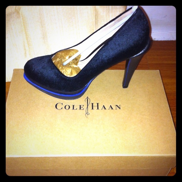 I just added this to my closet on Poshmark: Chelsea Dbl Platform Pump.-Color: Black Haircalf.. (http://bit.ly/Tk7C9u) #poshmark #fashion #shopping #shopmycloset