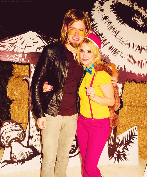 Ashley Benson & Chord Overstreet @ 2012 Just Jared Halloween Party (27.10)