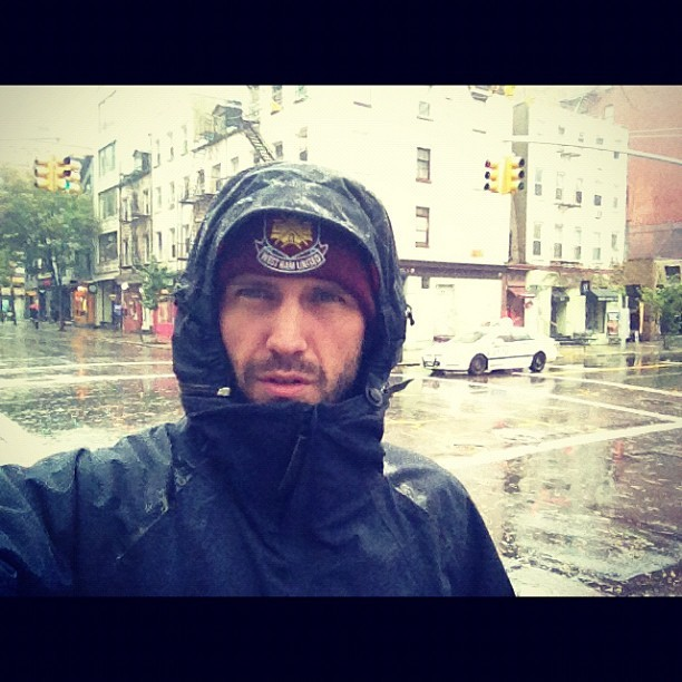 Stuck in manhattan #hurricane #sandy #whufc #nyc