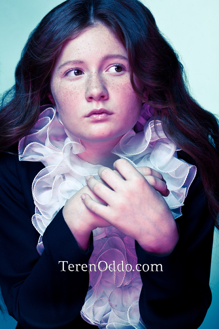 "A portrait I took of Showtime's ""Shameless"" star, Emma Kenney."