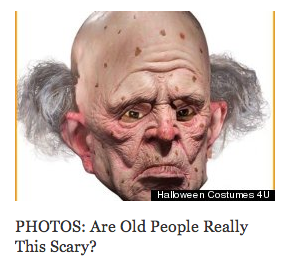 Huff/Post 50 page, October 2012 Are Old People Really This Scary?