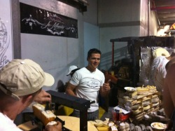 Rodolphe Le Meunier at the Cheesemonger's Invitational