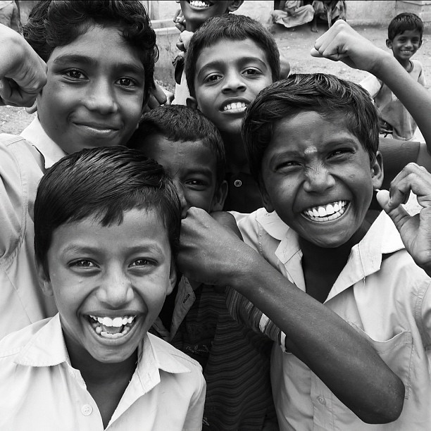 Posers (Leica DL5 w/IG IW) #100cameras #004India #RussFoundation #NGO #LeicaCameras #portraits #humanitarian #travel #boys #tamilnadu #Madurai #India  (at Madurai, India)