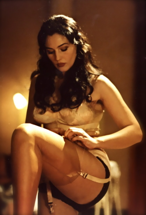 steinerkd:  Monica Bellucci from the movie Maléna.  I love Monica!