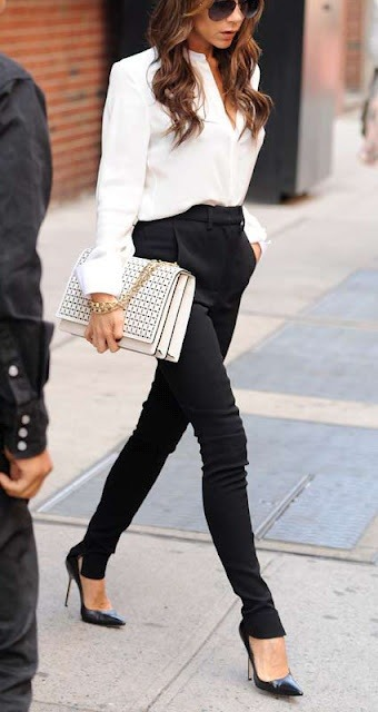 Victoria Beckham as always….with chic