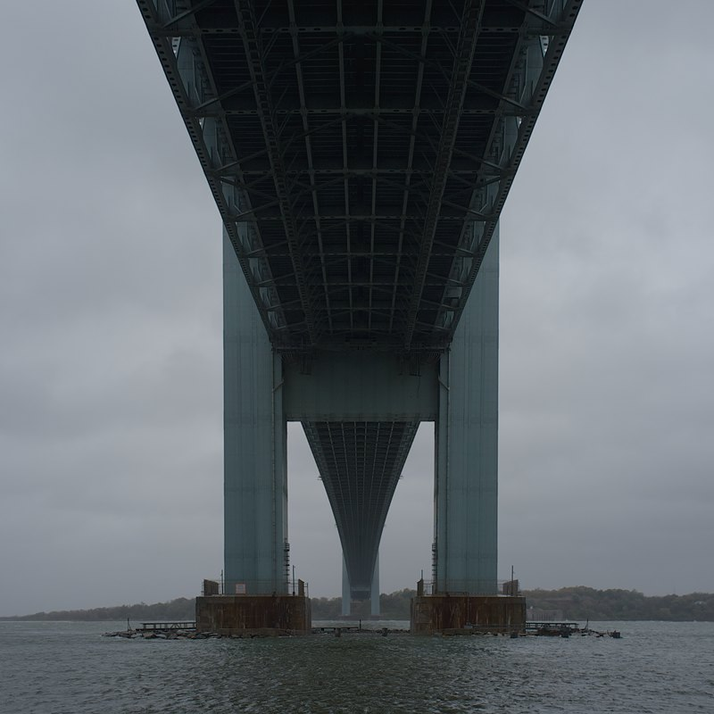 Verrazano Bridge Shot as Hurricane Sandy was coming to town
